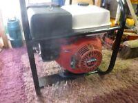 honda gx270 petrol generator 3.5kva