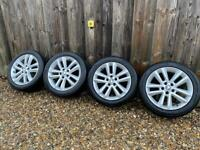 Vauxhall 5x110 alloys wheels and tyres