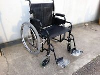 Bariatric 22 inch extra wide seat Self Propel Wheelchair