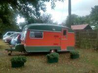 Retro Vintage Cotswold Windrush Caravan