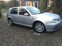 VW golf GTI 1.8 turbo silver good condition.