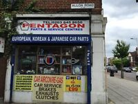 A Car Spares Shop for Sale