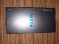 * BRAND NEW * SAMSUNG GALAXY NOTE 8 * SECURITY SEALED * 64GB * MAPLE GOLD *