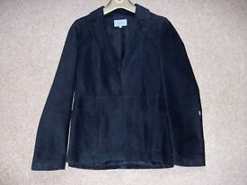 Ladies Black suede Jacket