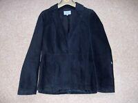 Ladies Black suede Jacket