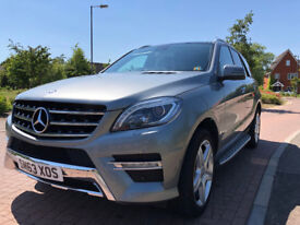 Beautiful and Clean Mercedes ML350 Bluetec AMG