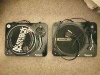 Numark TT 100 DJ Turntables (pair)