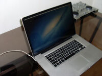 MacBook Pro 15 inch 3.4 quad core I7 8GB Ram 500GB HD Latest OSX & Logic Pro X