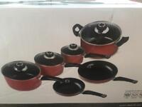 Morphy richard 6 piece pan set