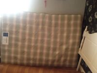 Bed shed double mattress