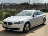 BMW 525d 3.0 Diesel Automatic *FSH - HPI Clear - 1 Owner From New - Bargain 60 Reg Silver Saloon