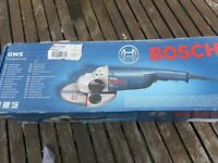 Bosch professional angle grinder GWS 22-230H 9 inch(230mm) blade. Brand new in box.