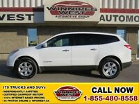 2009 Chevrolet Traverse 2LT AWD LEATHER, TWIN SUNROOFS, DVD ENTE
