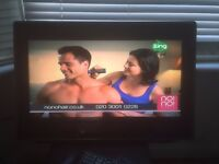 """Toshiba 26""""LCD TV with built in DVD player"""
