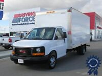 2014 GMC Savana 3500 16 ft Cube Van w/Pull Out Loading Ramp