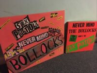 The Sex Pistols: The B*****ks Diaries & Large 3D SIGN Yate BS37