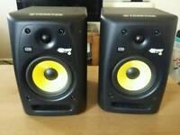 Krk speakers - pair (studio monitors)