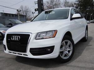2010 Audi Q5 3.2L V6 ONE OWNER ~ 61KMS ONLY ~ LIKE NEW !!