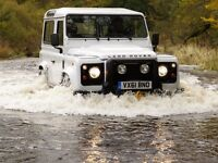 Land Rover specialist servicing and repair in Totnes
