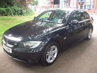 BMW 3 Series 2.0 320d SE 4drONE OWNR + LEATHER + AUTOMATIC 2008 (08 reg), Saloon