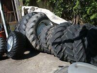tractor tyres wheels