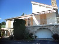 4 bedroomed Villa with large garden & terrace in rural Auvergne/Massif Central region of France