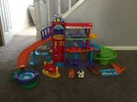 Vtech toot toot animal pet hotel play set