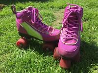 Roller boots, size 4 hardly used