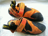 La Sportiva Python Rock climbin shoes good as new 42/43 8/9