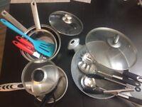 Wok, Pots and various cookwares