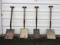 Vintage Shovels/Spades