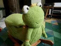 Frog Prince Ribbeting Rocker