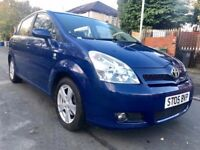 2005 TOYOTA COROLLA VERSO-2.0D4D-DIESEL-T3 (7-SEATER),93000 LOW MILES,FULL SERVICE HISTORY,ONE OWNER