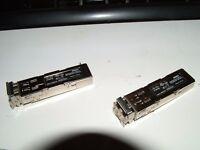 2 x Cisco MGBSX1 Gigabit SX Mini-GBIC SFP Transceiver