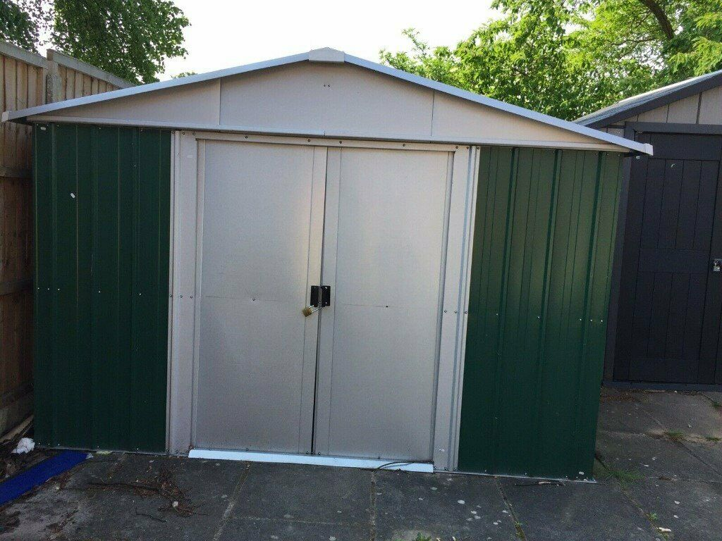 YARD MASTER Metal Garden Storage Shed -Apex Galvanised Outdoor Heavy-Duty  Steel Shed 10 X13 | in Leicester, Leicestershire | Gumtree