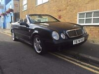Black Mercedes Benz CLK AMG low mileage