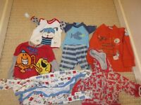 3-6 month and 6-9 month boy bundle