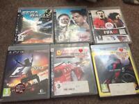 Ps3 games bundle 6 games