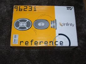 Infinity 9623i speakers new never used