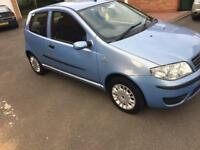 Punto 1.2 Low milage 67000. Mot Until May 2019