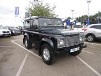 Land Rover Defender 90 TD COUNTY STATION WAGON (green) 2015-06-24