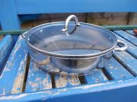 Viners non stick saute roaster 30cm with glass lid cost £70 new