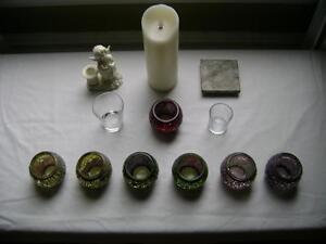 Assortment of Lovely Candle Holders