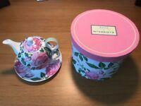 Rose fine bone china tea set by Newbridge Home