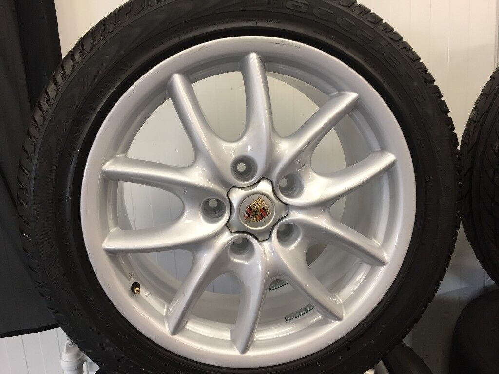 PORSCHE CAYENNE 19 inch ALLOY WHEELS | in Port Glasgow ...