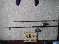 Sea fishing rod & reel - Ron Thompson