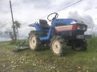 Iseki land hope 155 4x4 with mower