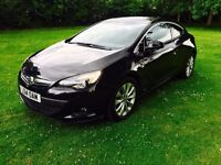 2014 VAUXHALL ASTRA GTC SRI 2.0 CDTI HPI CLEAR 0 PREVIOUS OWNERS TOP SPEC AUDI A3 FORD FOCUS FIESTA