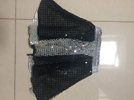 Child's costume sparkly skirt