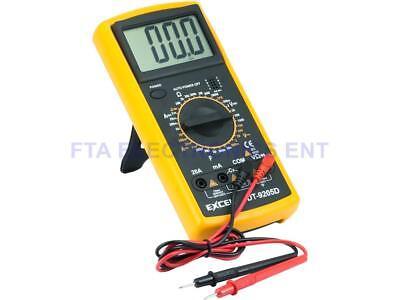 Large Lcd Professional Handheld Digital Multitester Ammeter Voltmeter Multimeter